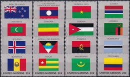 UNO NEW YORK 1986 Mi-Nr. 499/14 ** MNH - Unused Stamps