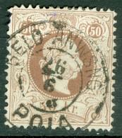 Autriche  Yvert  38A  Ou   Michel  41 I Ob  Second Choix    Ob  Pola  Croatie - Used Stamps