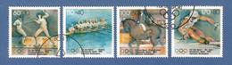 BRD 1992  Mi.Nr. 1592 / 95 , Olympische Winterspiele Albertville + Sommerspiele Barcelona - Gestempelt / Fine Used / (o) - Gebraucht