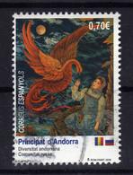 ANDORRE Andorra Esp. 2019 Andorre Russie Obl - Used Stamps