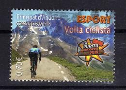 ANDORRE Andorra Esp. 2019 Velo Sport Obl - Used Stamps