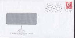 Denmark TØLLØSE MARGARINEFABRIK, TØLLØSE 1980 Cover Brief Margrethe II. Cz. Slania Stamp - Briefe U. Dokumente