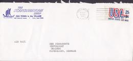 United States THE SCANDINAVIAN SHOP (Wiking Ship Cache) DALLAS, TX 1972 Cover Brief Denmark - Briefe U. Dokumente