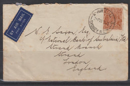 Australia 1935 Cover To England - Unclassified