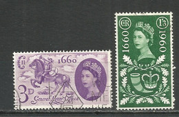Great Britain 1960 Year Used Stamps - Used Stamps