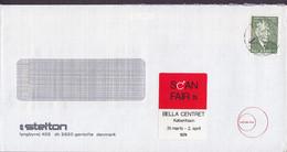 Denmark STELTON Lyngbyvej GENTOFTE, Brotype KØBENHAVN V. 1974 Cover Brief Cz. Slania Stemp & SCAN FAIR Vignette - Briefe U. Dokumente