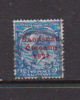 IRELAND    1922    2 1/2d  Bright  Blue     Printed  By  Thom    USED - Used Stamps