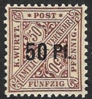 WURTEMBERG  -  Service  N°  69  - NEUF** - Wuerttemberg