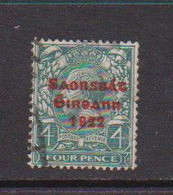 IRELAND    1922    4d  Grey  Green     Printed  By  Thom    USED - Used Stamps