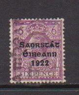 IRELAND    1922    6d  Reddish  Purple     Printed  By  Thom    USED - Used Stamps