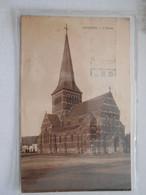 Bourlers Eglise ( Chimay ) Voies Du Tram - Chimay