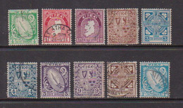 IRELAND    1922    Various  Designs    Part  Set  Of  10    USED - Used Stamps