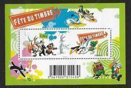 France 2009 Bloc Feuillet N° F4341 Neuf Fête Du Timbre Dessins Animés à La Faciale - Ungebraucht