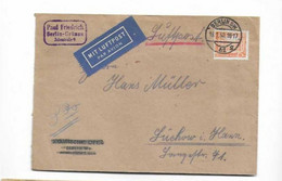 Brief Nach Lychow 1950 - Briefe U. Dokumente
