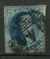 Belgien Nr.8        O  Used        (1199) - 1851-1857 Médaillons (6/8)