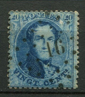 Belgien Nr.12 C        O  Used        (1200) - 1858-1862 Medallions (9/12)