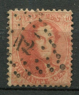 Belgien Nr.13 B        O  Used        (1201) - 1863-1864 Medallions (13/16)