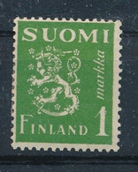 Finnland 1942 Mi. 262 Gest. 1 M. Wappen Löwe - Ungebraucht