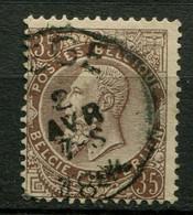 Belgien Nr.49         O  Used        (1203) - 1884-1891 Leopold II