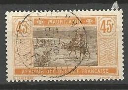 MARITANIE N° 28 CACHET PORT-ETIENNE - Used Stamps