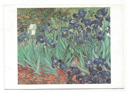 AA2931 Fiori Fleurs Flowers - Vincent Van Gogh - Les Iris - Dipinto Paint Peinture / Viaggiata 1992 - Flowers