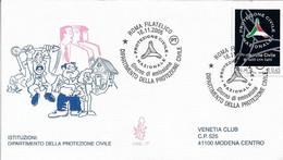 Fdc Venetia 2005: PROTEZIONE CIVILE ; Viaggiata; AS - F.D.C.