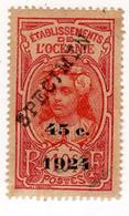 Océanie : Spécimen : No 65 - 45 C. S. 10 C. Rose - Used Stamps