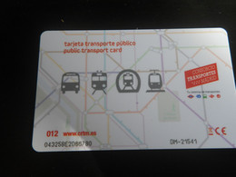 Titre De Transport MADRID - MUSEE PRADO - Europe
