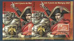 Blocs Marigny 2021 BI CENTENAIREDE LA MORT DE NAPOLEON - Ungebraucht