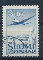 Finnland Mi. 579 Gest. Flugzeug Winter Landschaft - Gebraucht