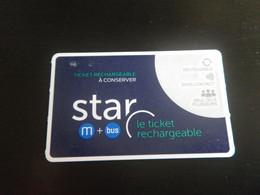 Titre De Transport RENNES - STAR - Europe