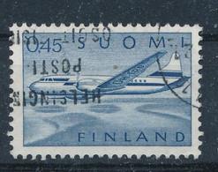 Finnland Mi. 563 Gest. Flugzeug - Gebraucht