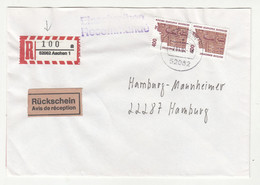 Germany Letter Cover Posted Registered 1994 Aachen B211015 - Briefe U. Dokumente