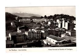 """14198 """" LE PERTHUS-LOS LIMITES-VISTA PARCIAL AL FONDO EL CANIGOU """" PANORAMA-VERA FOTO -CARTOLINA POSTALE SPEDITA - Gerona"""