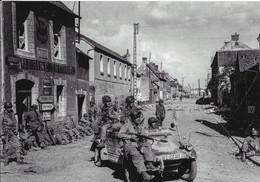 Cp Moderne, Débarquement En Normandie, D Day 6 Juin 1944, Parachutistes Américains Dans Une Kübelwagen Allema à Carentan - Guerra 1939-45