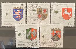 Bund Zegel Nrs 1660 - 1664 Used - Gebraucht