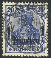 Germany / Deutsche Reich  Post In  Turkish / SMYRNA  1906 - Deutsche Post In Der Türkei