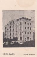 POSTCARD PORTUGAL - ESTORIL - HOTEL PARIS - Lisboa