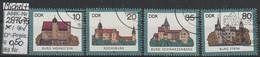 "1985 - DDR - SM - Satz ""Burgen Der DDR ""  10 - 80 Pfg. Mehrf - O Gestempelt - S.Scan (2976-2979o    Ddr) - Gebraucht"