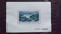 """Frankreich Block A 425 (Mi 7274) **/mnh, 50. Jahrestag Des Erstfluges Der """"Concorde"""" - Ungebraucht"""