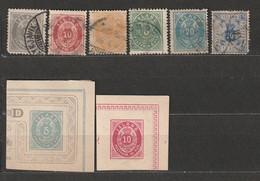 Island Alte Briefmarken Aus Französischem Alten Album Timbres - Poste - Used Stamps