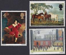 GRANDE-BRETAGNE, 1967, Peinture (Yvert 491 Au 493 ) - Unused Stamps