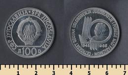 Yugoslavia 100 Dinar 1985 - Yugoslavia
