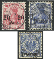 Germany / Deutsche Reich  Post In  Turkish - Deutsche Post In Der Türkei