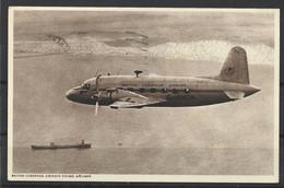 Carte P De 1951 ( Avion / Britich European Airways Viking Airliner ) - 1946-....: Modern Era