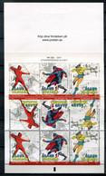 Finnland Alandinseln Finland Aland Islands Mi# MH 9 Stamp Booklet Postfrisch/MNH - Cartoons, Super Heros - Ålandinseln