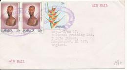 Jamaica Cover Sent Air Mail To England 9-11-1987 - Jamaica (1962-...)