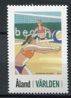 Finnland Alandinseln Finland Aland Islands Mi# 349 Postfrisch/MNH - Beach Volleyball - Ålandinseln