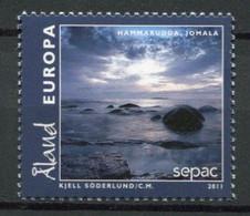 Finnland Alandinseln Finland Aland Islands Mi# 351 Postfrisch/MNH - SEPAC Tourism Landscapes - Ålandinseln