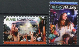 Finnland Alandinseln Finland Aland Islands Mi# 379-80 Postfrisch/MNH - Music Festival - Ålandinseln